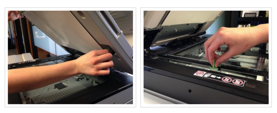 Get rid of  black lines on your copies and prints.